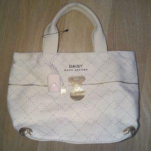 Marc Jacobs Mini Tote Bag Daisy Canvas